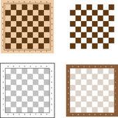 Chess board set vector illustration — Stock Vector