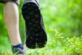 Walking exercise — Stock Photo