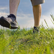 Walking and exercising in nature — Stock Photo #5672349