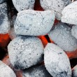 Stock Photo: Closeup of charcoal