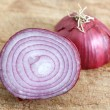 Stock Photo: red onion&quot