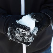 Stock Photo: Snowball