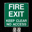 Fire Exit — Stock Photo
