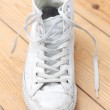 Canvas shoes — Stock Photo