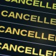 Cancelled - Stock Photo