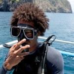 Scuba diver — Stock Photo #5924597