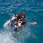 Scuba diver — Stock Photo #5924599