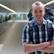 Stock Photo: Backpacker