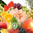 Stock Photo: Fruit selection