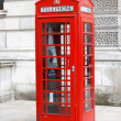 Royalty-Free Stock Photo: British telephone box