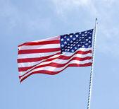 Stripes flag — Stock Photo