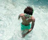 Snorkeller — Foto de Stock