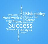 Path to success — Stock Photo