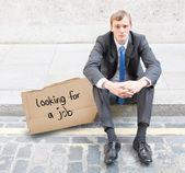 Empresário demitido — Foto Stock