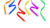 Party ribbons — Stock Photo