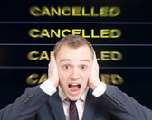 Cancelled — Foto de Stock