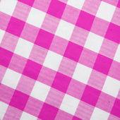 Purple textile gingham background — Stock Photo