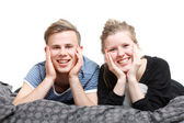 A couple — Stock Photo