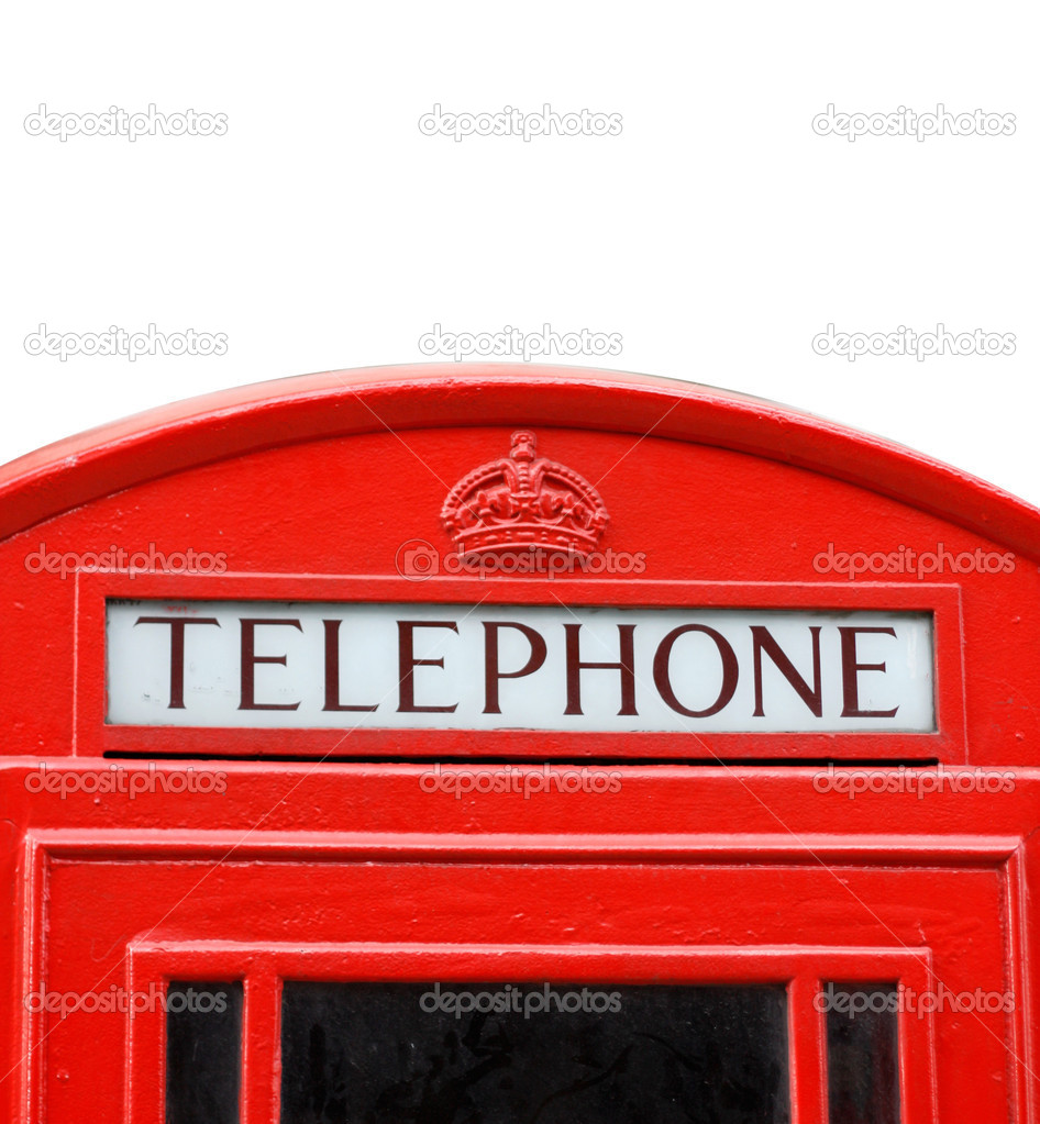 Ac iconic London phone box — Stock Photo #5922182