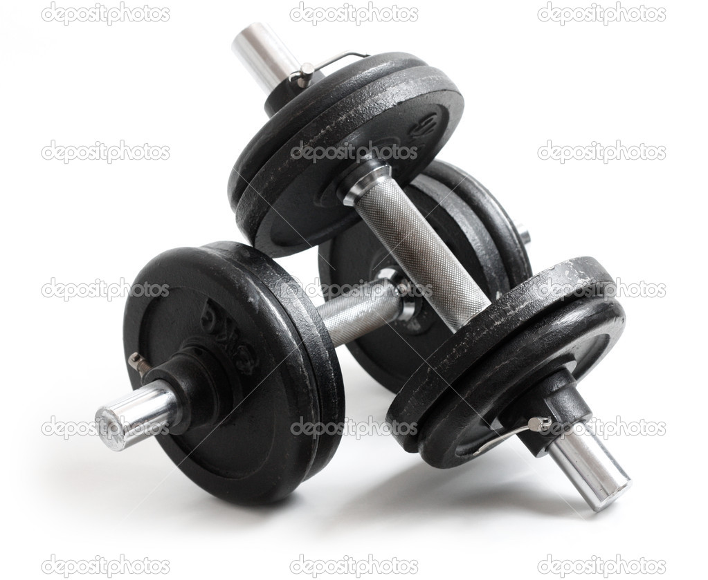 Dumbbells — Stock Photo #5927512
