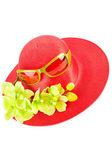 Woman`s summer hat — Stock Photo