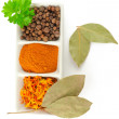 Spices. Mix of different herbs — Stock Photo