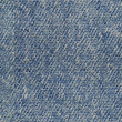 Blue denim fabric background seamlessly tileable — Stock Photo