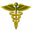 Caduceus Symbol — Stock Photo
