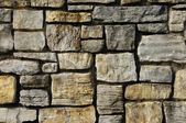 Masonry rock wall texture — Stock Photo