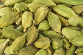 Green cardamon seeds — Stock Photo