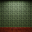 Illuminated tile wall — Stock Photo #5440613