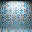 Illuminated tile wall — Stock Photo #5440660