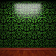 Illuminated tile wall — Stock Photo #5440846