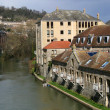 River Avon, Bath - Foto Stock