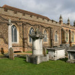 St Michael and All Angels parish church - Stock Photo