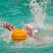 Water polo player — 图库照片