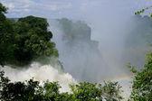 Victoria waterfall, Zimbabwe — Stock Photo