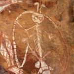 Aboriginal rock art — Stock Photo #6439659
