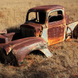Royalty-Free Stock Photo: Rusty old pickup truck