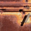 Stock Photo: Rusty door