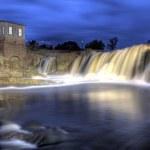 Falls at Sioux Falls, South Dakota, HDR — Stock Photo #6339003