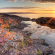 Stock Photo: Lake Superior Sunrisr, HDR