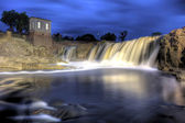 Falls at Sioux Falls, South Dakota, HDR — Stock Photo