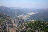 La isla de creta, un paisaje de montaña — Foto de Stock