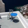 Seascape on the island of Santorini — Stock Photo