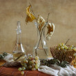 Stock Photo: Autumn Still Life with Grapes