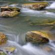Stock Photo: Mountain river with stones