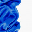 Blue texture silk — Stock Photo