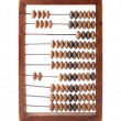 Old wooden abacus isolated — Stock Photo #6583492