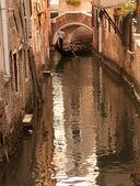Gondoljär i venedig, italien — Stockfoto